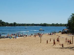 Canadian Lakes Beach